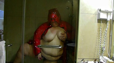 Shower, Rain, Latex bbw