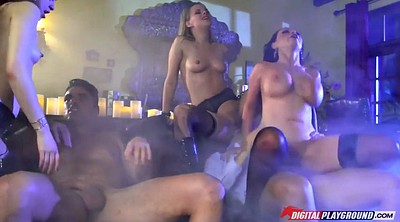 Orgy, Group sex orgy, Sitting
