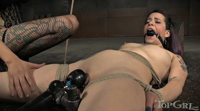 Mistress, Tattoo, Rope, Gag