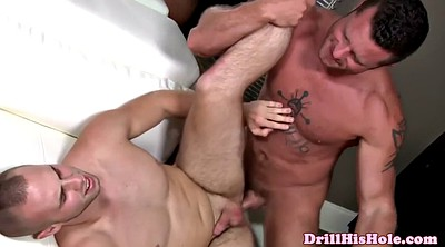 Hairy anal, Fat cock, Fat butt