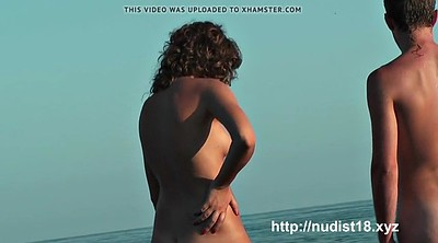 Beach, Nudist, Nice ass