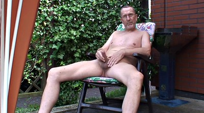 Young solo, Naked, Granny solo, Gay old, Garden