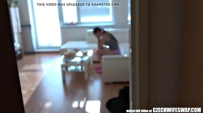 Wife swap, Czech wife swap, Czech wife, Busty amateur, Swapping, Swap wife