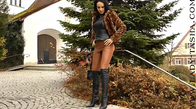 Pant, Milf outdoor, Leather pants