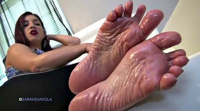 Wrinkled soles, Solo tease