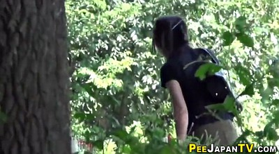 Japanese public, Pee outdoor