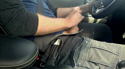 Car masturbation, Gay hd