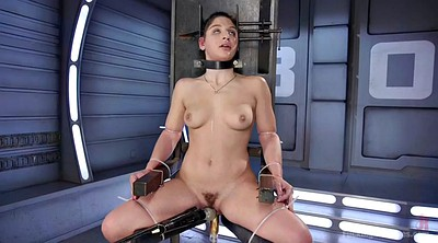 Tied, Hairy solo, Tied up, Machine fuck, Fuck machine