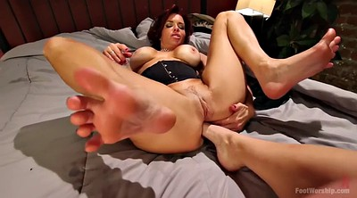 Veronica avluv, Veronica, Foot fisting, Mature foot, Mature feet