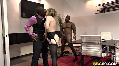 Orgy, Nina hartley, Interracial gangbang