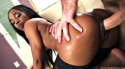 Creampie, Black cock anal