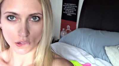 Squirting webcam, Blonde squirt