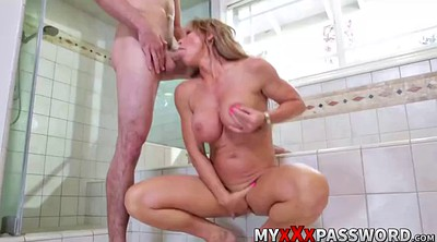 Hot mom, Shower, Mom hot, My mom, Mom shower, Mom and