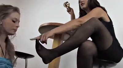 Mistress foot femdom, Foot worship, Nylon feet worship