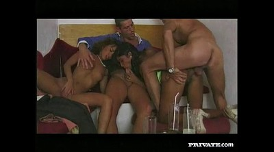 Orgy, Vintage anal, Vintage double, Exotic