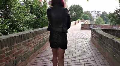 German mature, German outdoor, Flashing mature