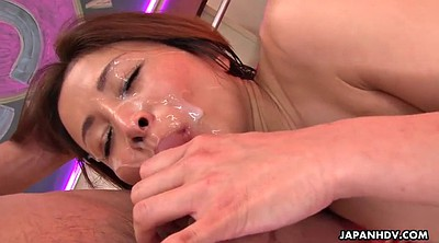 Japanese milf, Three, Japanese uniform, Japanese face, Gangbang creampie, Japanese face sitting