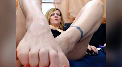 Feet mature, Sound, Foot anal, Mature feet