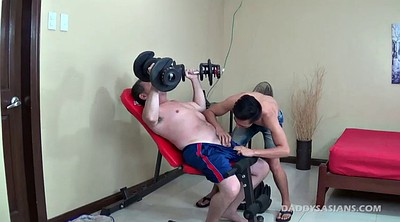 Old, Gay cock, Gay gym, Caught