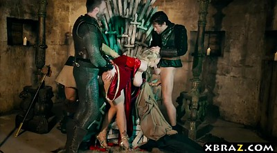 Game, Game of thrones, Anal gangbang, Parody