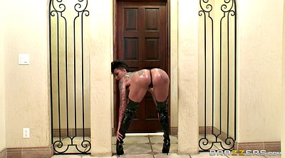 Leather, Oil dance, Leather boots, Leather solo, Big boots, Big boot
