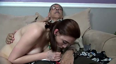 Old grandpa, Creampie old