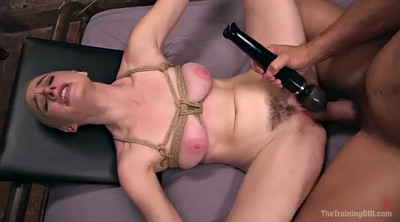 Squirt, Tied, Hairy cumshot, Tied and fucked