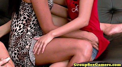 Bambi, Lesbian hot, Group game, Game sex
