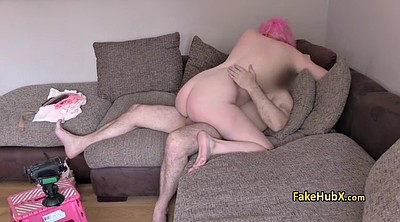 Anal casting, Office anal, Pink hair