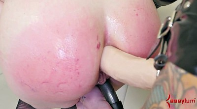 Brutal, Gape anal, Strap on anal, Anal punishment