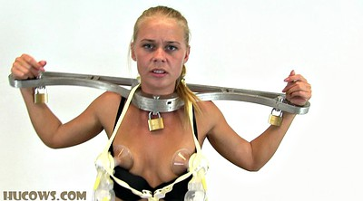 Tied, Milking tits, Tied tits
