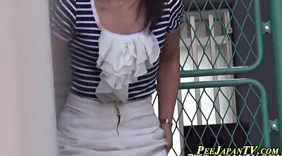 Japanese public, Japanese piss, Outdoors