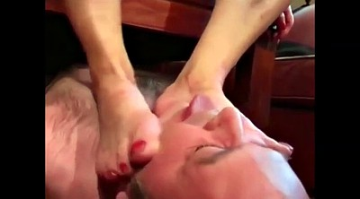 Mistress, Mature foot