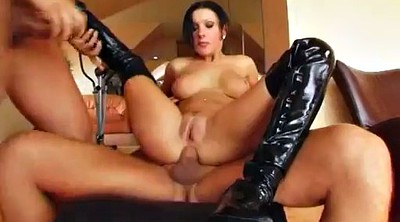 Double anal, Anal threesome, Nikki