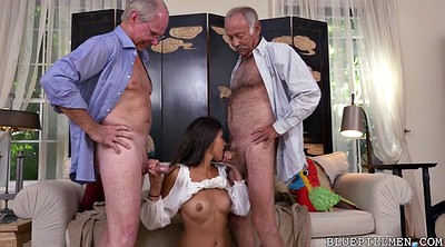 Old men, Hairy young, Young hairy, Young latina, Hairy fucking, Granny threesome