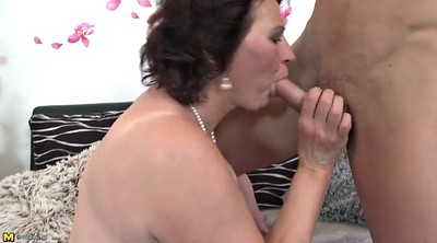 Mother and son, Mature and son, Busty milf, Mother fuck, Granny son