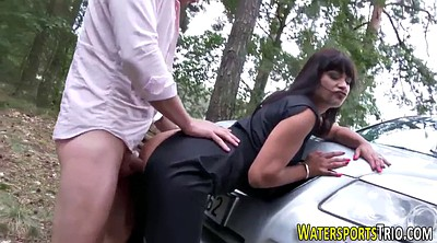 Piss, Pissing, Outdoor
