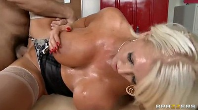 Tanned, Milf huge tits