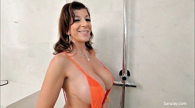 Sara jay, Shower, Milf shower