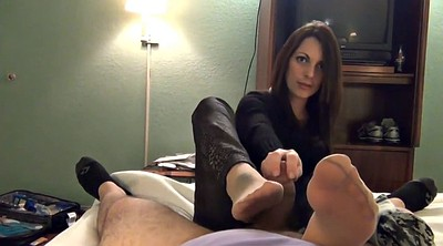 Nylon footjob, Nylon feet, Nylon foot, Feet nylon