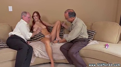 Redhead granny, Teen and old, Sister tits, Old guy, Tits fuck, Sister and