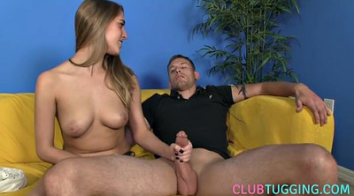 Handjob, Big nipple, Stepsister, Big nipples