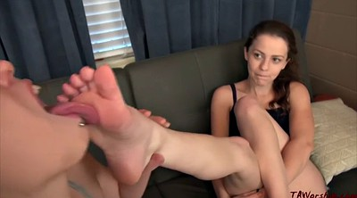 Lesbian foot, Blackmailed