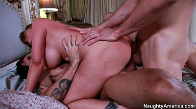 Darla crane, Busty threesome, Darla