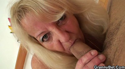 Old, Stocking, Old and young, Blonde old, Matures, Granny black