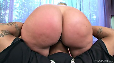 Ass worship, Bbw interracial, Cock worship