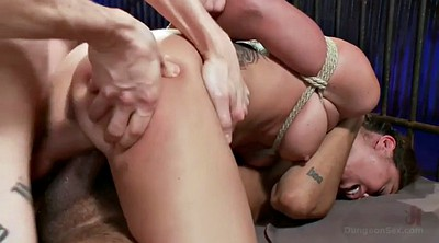 Slave, Double dick, Bdsm anal, Two slaves