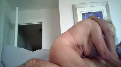 Blonde mature, Hidden riding, Hidden cam granny