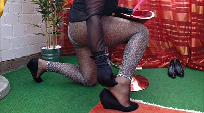 Crossdressers, Cross, Solo in heels
