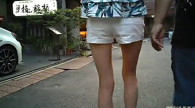Foot fetish, Candid, Shorts